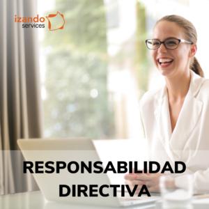 Responsabilidad directiva
