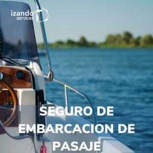 seguro de embarcación de pasaje