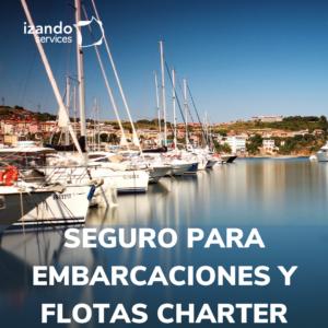 Seguro para embarcaciones y flotas charter